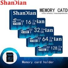 Alta velocidade real do cartão do tf de smartsd da classe 6 smartsd para a câmera do telefone cartão esperto 32gb 16gb do sd de shandian cartão de memória 8gb 4gb