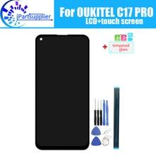 6.35 אינץ OUKITEL C17 PRO LCD תצוגה + מסך מגע 100% מקורי נבדק LCD Digitizer זכוכית לוח החלפה עבור OUKITEL c17 פרו