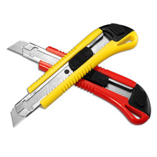 High Quality Paper Cutter Large Size Utility Knife Auto-lock With spare blade School and Office Stationery Tools
