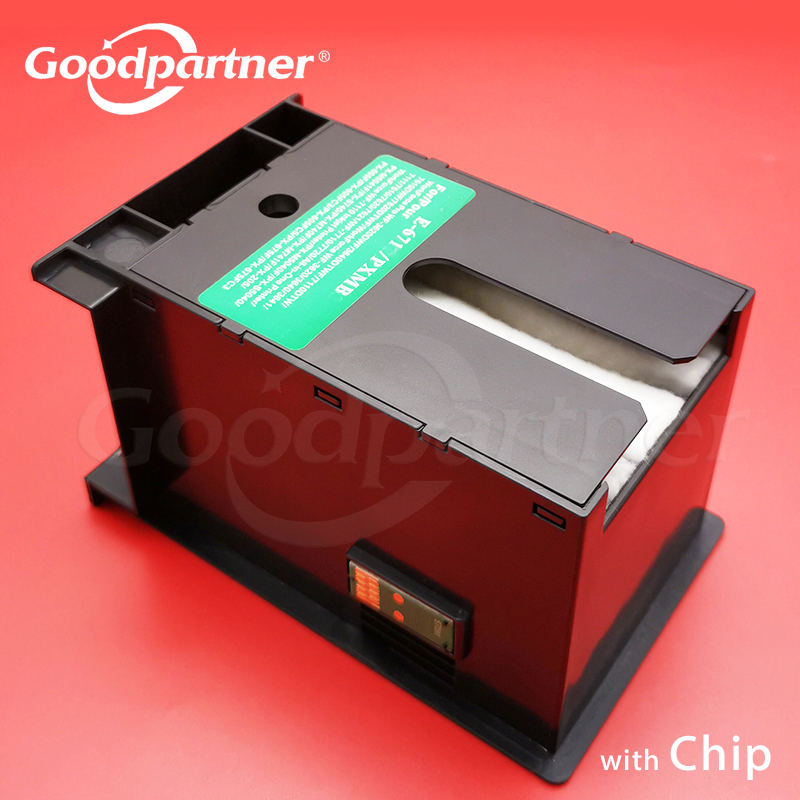 T6710 Ink Maintenance Box For Epson WF 5110 5190 5620 5690 4630 4640 3520 3530 3540 3640 WP 4010 4020 4530 4533 4540 4590 M5190