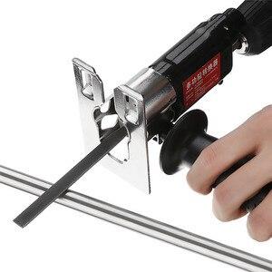 Image 3 - DANIU сабельная пила насадка для замены электрической дрели в сабельную пилу джиг пилы металла для резки древесины металла