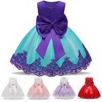 Ropa de Navidad para niñas. Vestido elegante Formal de noche para niñas. Vestido de bautizo y cumpleaños para niñas. Vestido de princesa para fiestas de Año Nuevo.