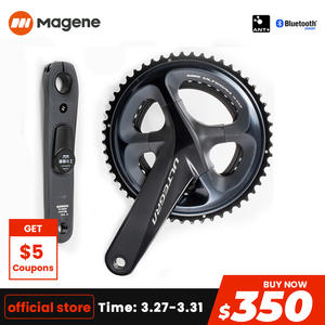 Magene Power-Meter SHIMANO ULTEGRA R8000 Road-Bike Chargeable P32 with Chainrings Single-Drive-Side