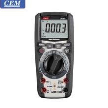 Cem dt965/DT-965T multímetro digital, amperímetro, verdadeiro rms, luz de fundo anti-queima, medidor eletricista de alta precisão, medidor universal