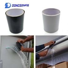 DONGSENFA 1.52M סופר לתקן חזק עמיד למים דליפת תחנת חותם תיקון קלטת ביצועים עצמי לתקן קלטת Fiberfix דבק קלטת