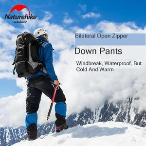 Image 2 - Naturehike New Promotion Thicken Outdoor Down Pants Waterproof Wear Mountaineering Camping Warm Winter White Goose Down Pants