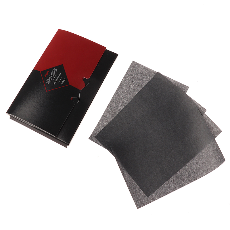 80Sheets Bamboo Charcoal Flatting Out Facial Tissue Oil Absorbing Face Paper Wipes Flatting Out For Face Blotting Paper