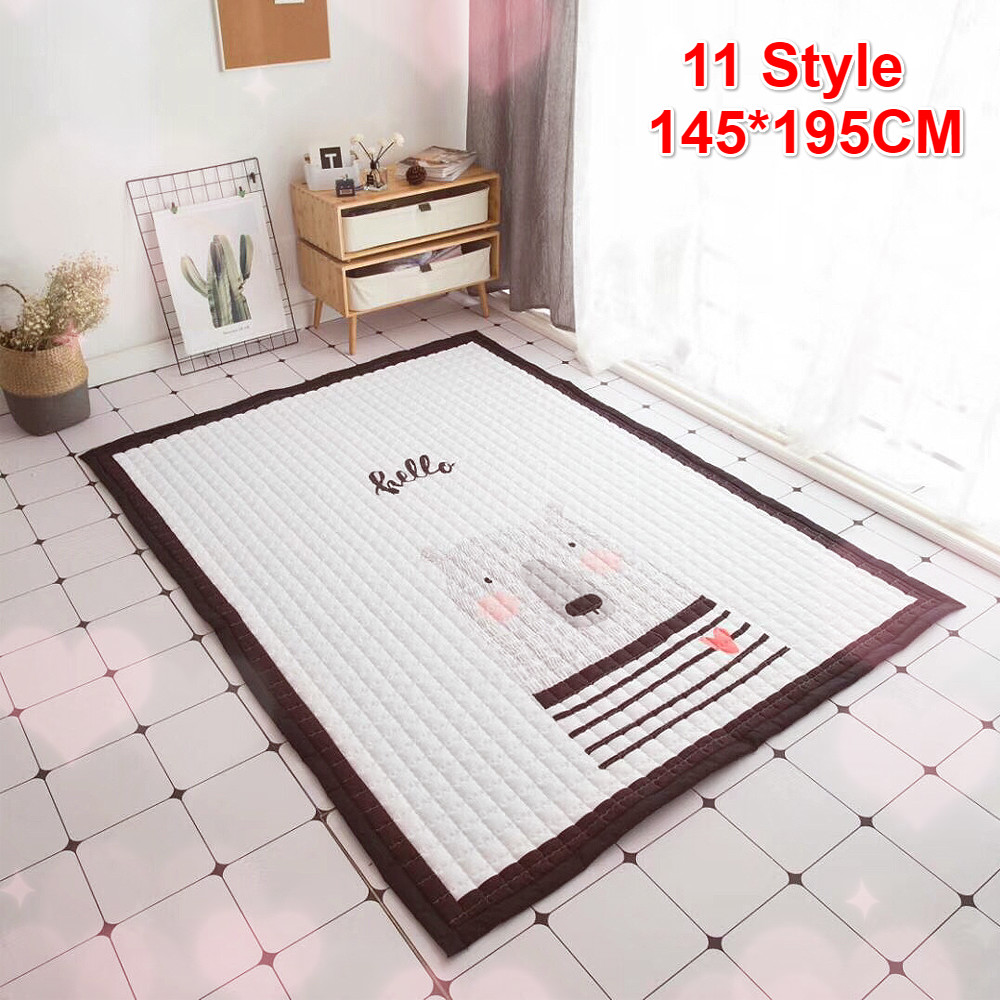 140X195cm Baby Play Mat Children Carpet Universal Washable Rugs For Living Room Anti-skid Bedroom Playing Mat