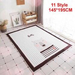 140X195cm Baby Spielen Matte Kinder Teppich universal Waschbar Teppiche Für Wohnzimmer Anti-skid Schlafzimmer Spielen matte