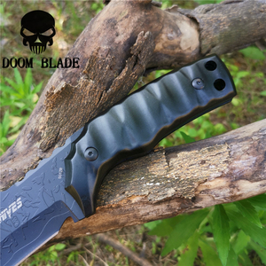 Image 5 - Tactical Fixed Blade Knife 8CR13MOV Steel Military Diving Knives Good for Hunting Camping Survival Outdoor and Everyday Carry
