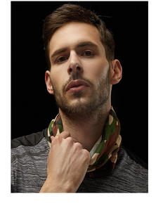 Men's Scarf Headband Tube Hair Microfiber-Bandana Face-Shield Muslim-Hijab Cycling Custom-Pattern