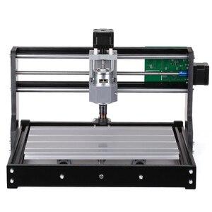 Image 2 - Мини лазерный гравировальный станок с ЧПУ 3018 Pro GRBL DIY, гравировальный станок для дерева, печатной платы, ПВХ, резьба, фрезерный гравировальный станок ER11