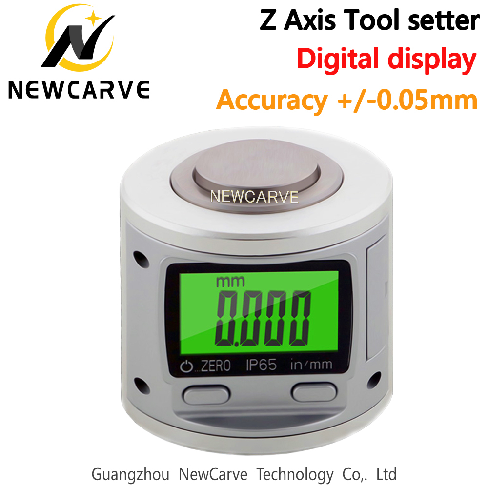 CNC Z Axis Tool Setter Digital LCD Display H50mm Tool Setting Instrument For CNC Machine NEWCARVE
