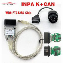 Switch INPA Usb-Interface-Cable Ft232rl-Chip for BMW K DCAN Can-K-Can-Inpa 20PIN