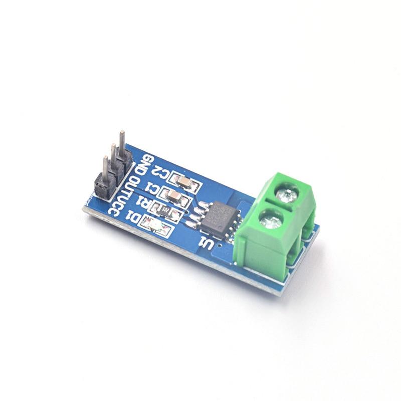 Free Shipping 10Pcs/lot Hot Sale ACS712 30A Range Hall Current Sensor Module ACS712 Module For Arduino 30A