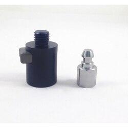Zupełnie nowe adaptery RTK GNSS GPS Quick Release do biegunów GPS Leica Trimble Topcon Sokkia 5/8x11 instrumenty do pomiaru gwintów w Części i akcesoria do instrumentów od Narzędzia na