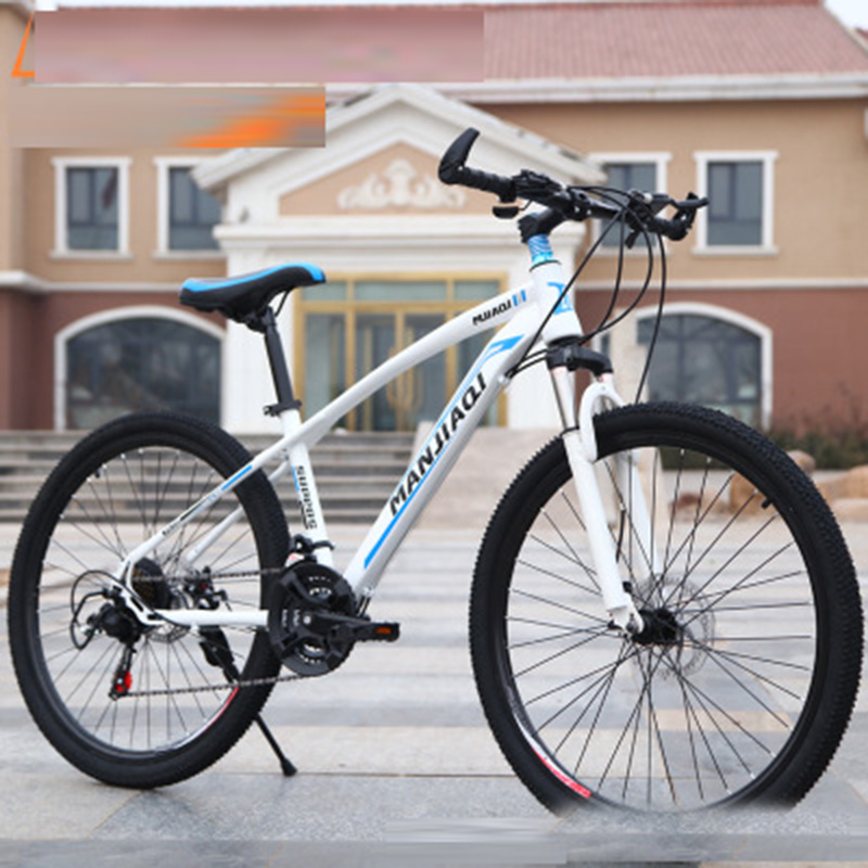 Bicicleta de Montanha Bike para Homens e Mulheres Carregador de Estrada Carros de Corrida Mountain Estudantes Adultos 24-polegada