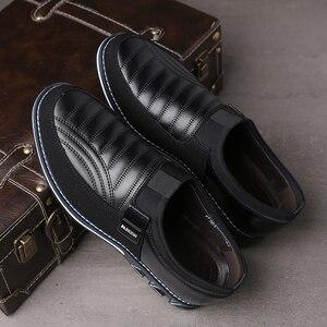 Image 3 - Męskie obuwie codzienne 2019 męskie mokasyny mokasyny modne buty do jazdy męskie buty do biura najnowsze męskie płaskie