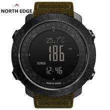 North Edge Men Watches Sport Military Digital Watch Baromete