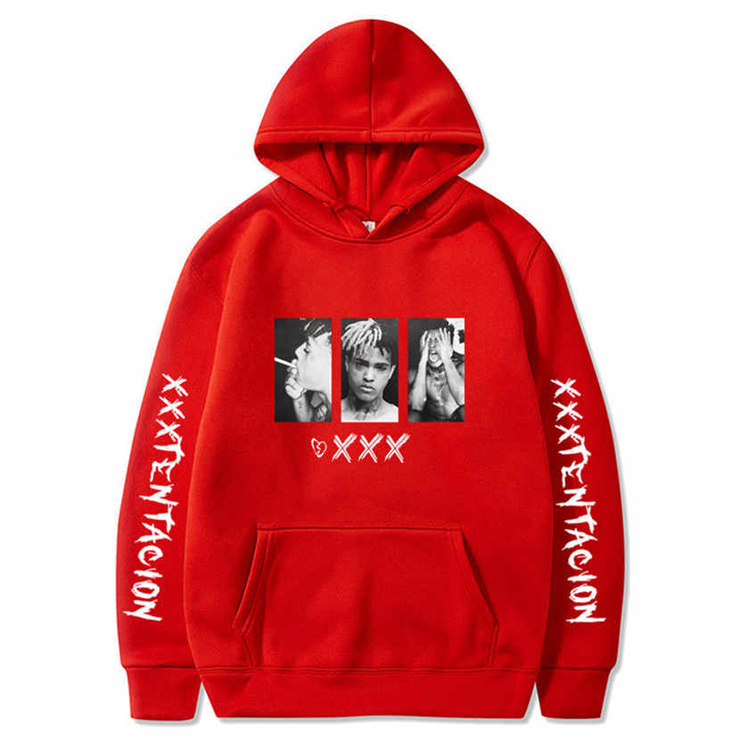 XXXTentacion Hoodies Sweatshirt Männer Frauen Casual Pullover Streetwear Sudadera Hombre Hip Hop HOODIES Lustige Drucken Hoodies