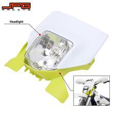 Motorcycle New 2021 Headlight Headlamp Head Lamp Light For Husqvarna FE250 FE350 FE450 FE501 TE250i TE300i 2020 2021