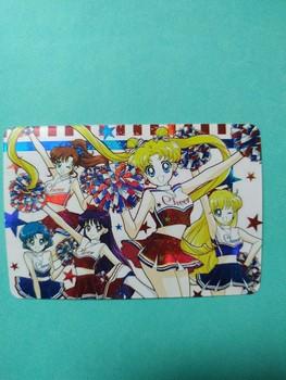 Sailor Moon Cheerleaders zabawki Hobby Hobby kolekcje kolekcja gier karty Anime tanie i dobre opinie TAKARA TOMY Q979 8 ~ 13 Lat 14 Lat i up 2-4 lat 5-7 lat Chiny certyfikat (3C) Zwierzęta i Natura Fantasy i sci-fi