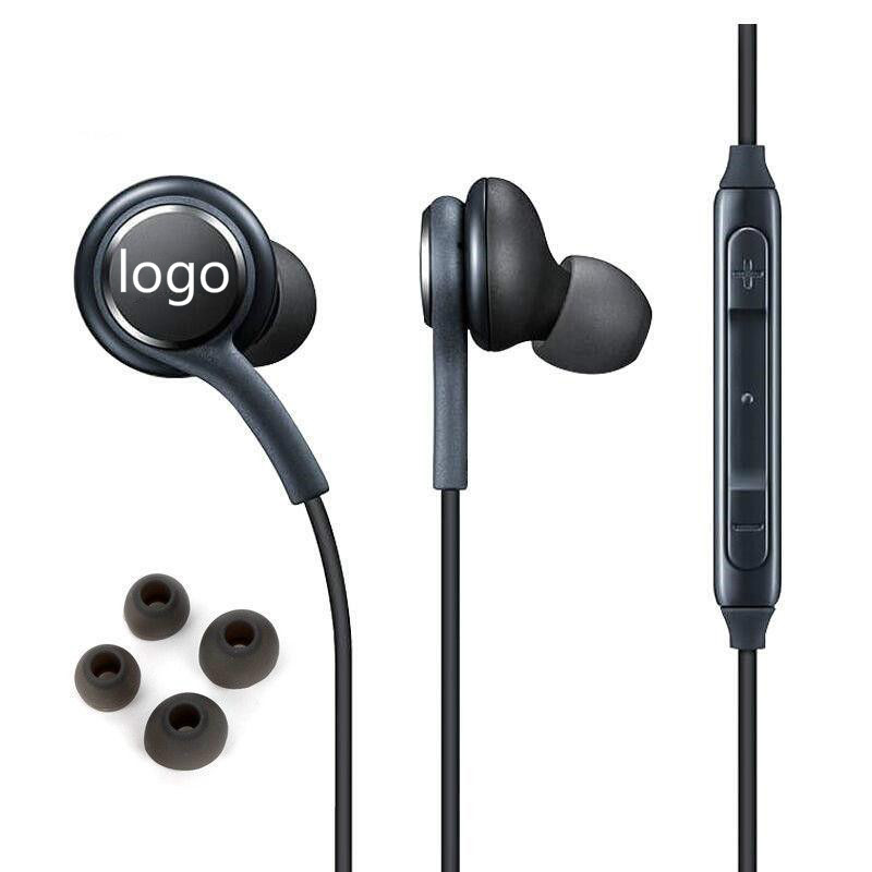 Metal Earphones Super Bass Stereo Earbuds Sweatproof Headsets With Mic Replacement Handsfree Earpiece For Samsung S8
