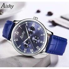 Retro Design men Watches Leather Band Quartz Wrist Watch Top Brand Luxury Fashion Clock Saat Drop Shipping montre femme