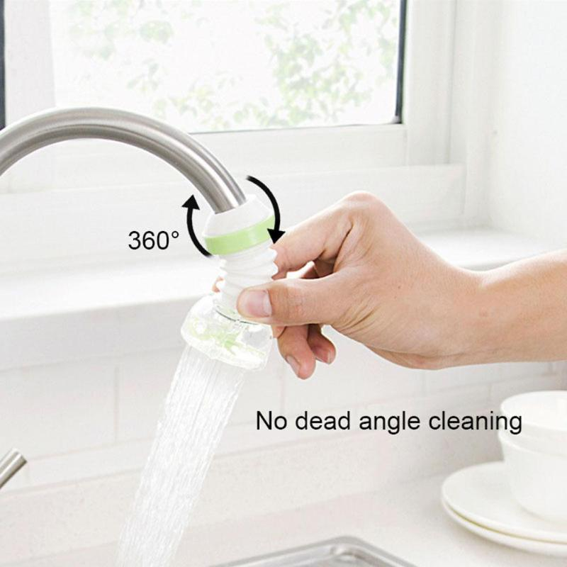 360 Degree Rotatable Water Saving Filters Remove Rust Suspended Article Kitchen Water Cleaner Water Filtration Purifier
