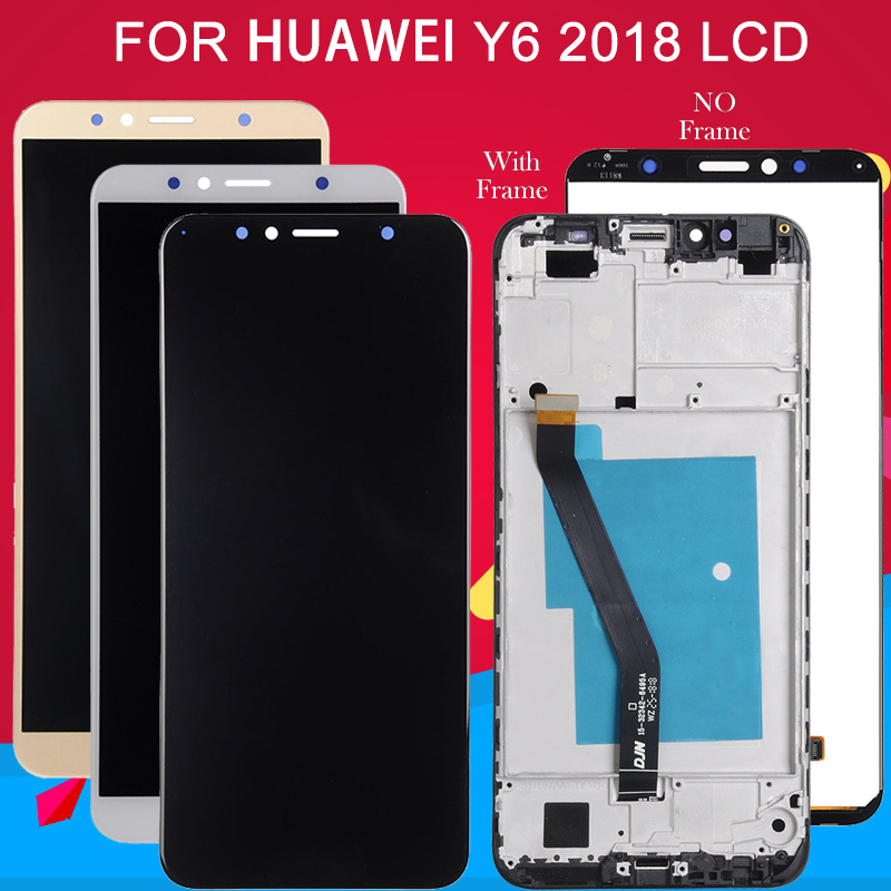 Dinamico For Huawei Y6 2018 LCD Y6 Prime 2018 Display Touch Screen Digitizer Assembly For Honor 7A Display 7A Pro Lcd Mobile Phone LCD Screens    - AliExpress