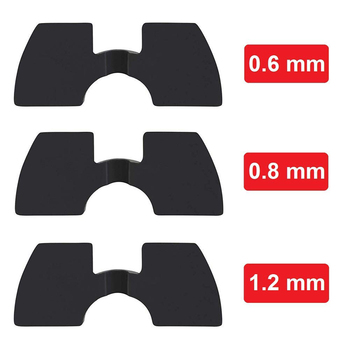 For Xiaomi Mijia M365/M365 Pro/M187 Electric Scooter Damping Cushion Spacer Rubber Vibration Damper Accessories 0.6/0.8/1.2mm. image