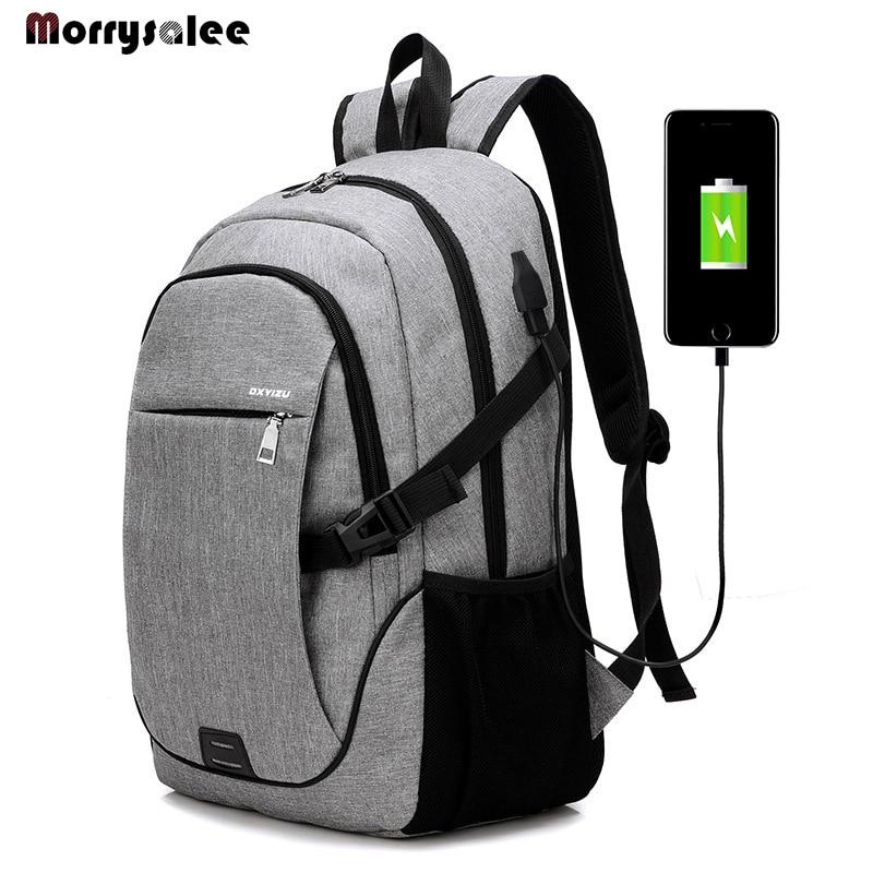 Men Backpack Bag Brand 15.6 Inch Laptop Notebook Male Waterproof Backbag High School Student Backpack Men's Bag