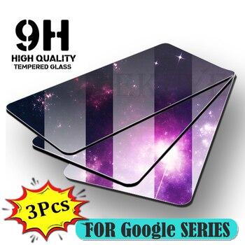 Перейти на Алиэкспресс и купить Защитное стекло fekuye, закаленное стекло с полным покрытием для Google Pixel 4 4XL 3A 3 XL Lite 3AXL 9H