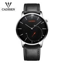 Cadisen Ultra-Dunne Zakelijke Horloges Mannen Casual Mode Quartz Horloges Waterdichte Sport Horloge Man Luxe Relogio Masculino