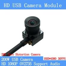 Module Usb-Camera Zero-Distortion Mini Cctv Android 1080P 2MP UVC MJPEG OTG 30FPS Linux
