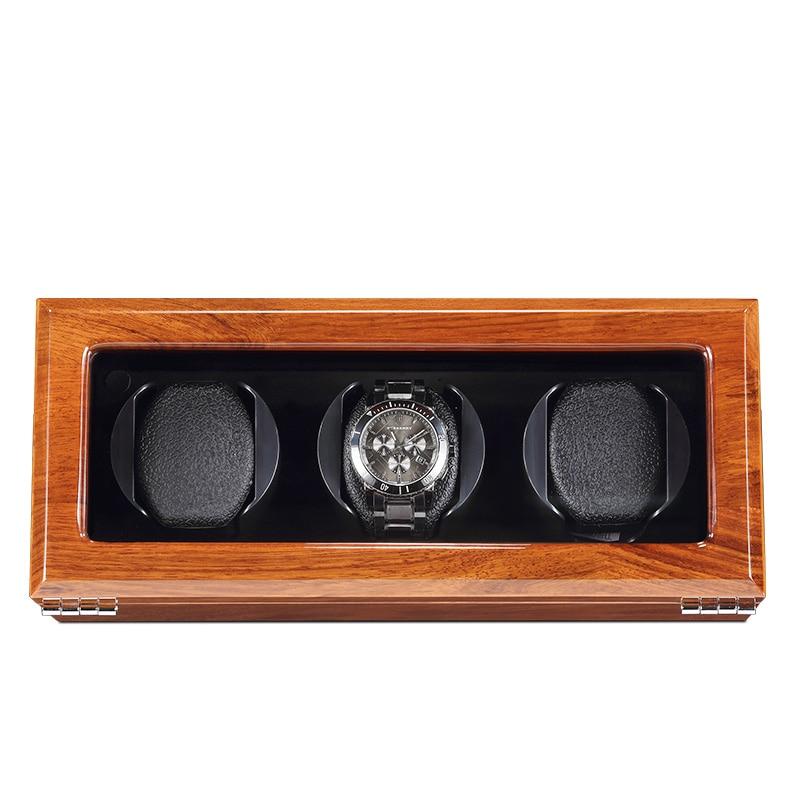 Automatic Mechanical Watch Winders Black Storage Box Collection Watch Display Jewelry Winder Box