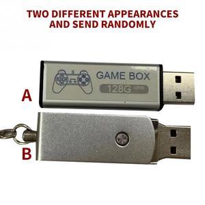 Image 4 - 176 מודלים 128G 7000 משחקי משחק מורחב כפול לשחק נייד בית קלאסי עם רכזת משחק ילדי כפול לשחק עבור PS1 מיני
