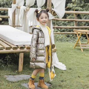 Image 5 - SLAIXIU Winter Jacke für Mädchen Mit Kapuze Dicke Kinder Jacken kinder Zipper Winddicht Verlängern Jungen Graben Mantel