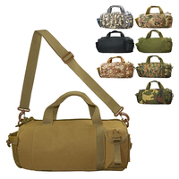 Military Tactical Duffel Bag For Men Outdoor Sport Hiking Travel Climbing Shoulder Hand Camping Hunting Oxford  Water resistant Hunting Bags     -