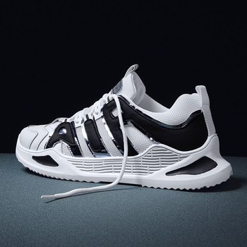 Mens Casual Shoes summer Men Sneaker High  White shoes men Comfortable Mesh Sneakers Breathable Walking