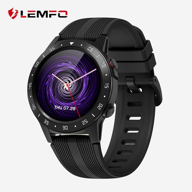 LEMFO M5S GPS Smart Watch Men Independent Card Call Heart Rate Monitor IP67 Waterproof Compass Barometer Weather Smartwatch 1