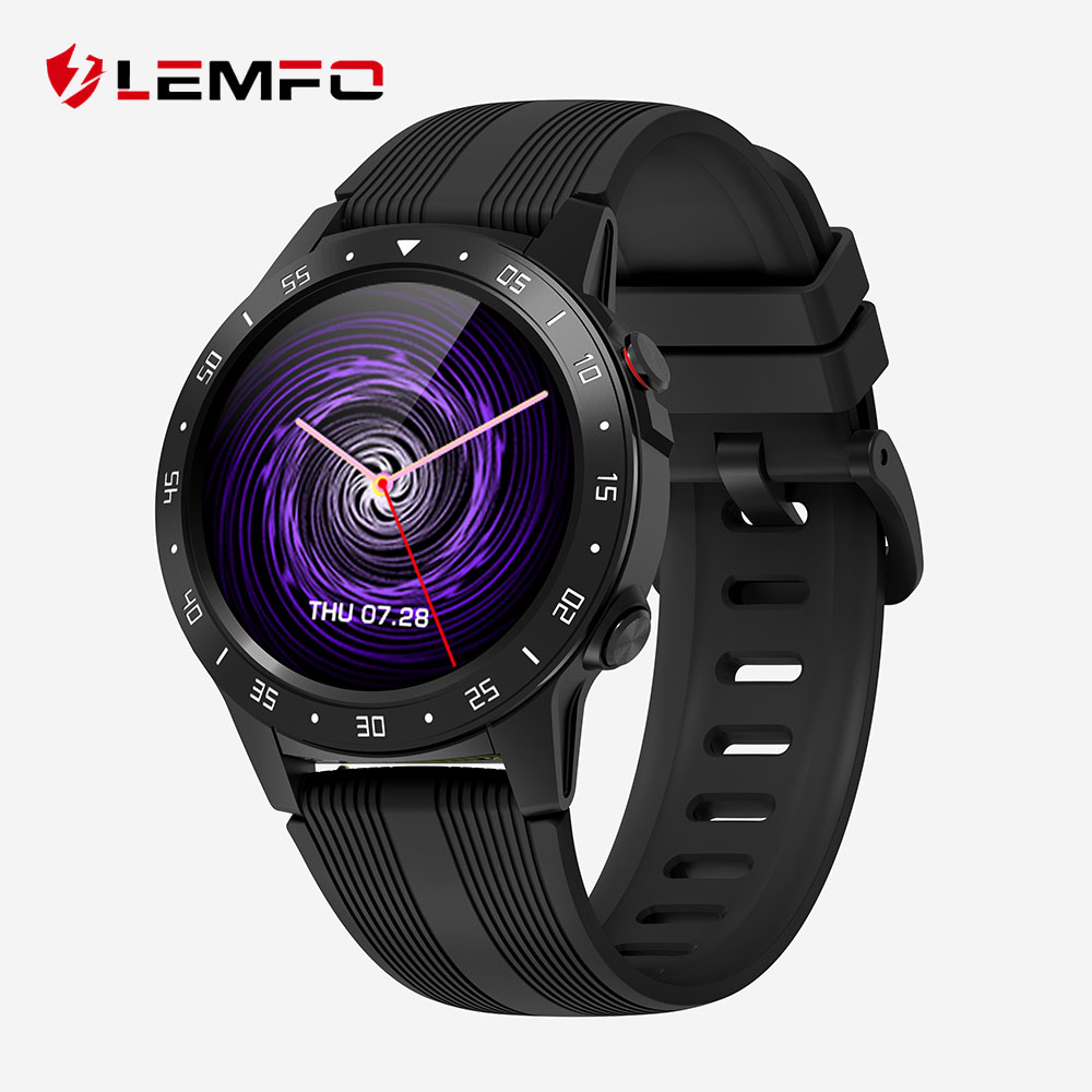LEMFO M5S GPS Smart Watch Men Independent Card Call Heart Rate Monitor IP67 Waterproof Compass Barometer Weather Smartwatch|Smart Watches| |  - AliExpress