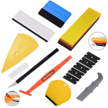 FOSHIO Window Film Tinting Tool Kit Vinyl Car Wrap Stickers Tool Set Auto Car Accessories Carbon Foil Tint Application Squeegee