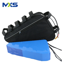 Electric Bike Battery 52V 20AH 48V Triangle Frame Bag Lithium Ebike Battery 500W 750W 1500W 2000W Bafang BBS03 BBS02 Battery hot sales 48v 750w bafang bbs02 bike battery 48v 20ah water bottle battery with charger bms usb port for sanyo cell