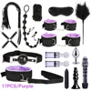 17pcs Purple