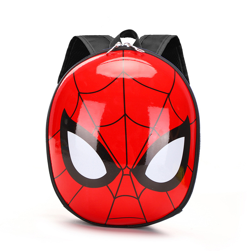 Children's Backpack 3D Mochila Escolar Menino New EVA Spiderman Schoolbag Hard Shell Backpack Cartoon Lovely Mini Kids Cute Bags