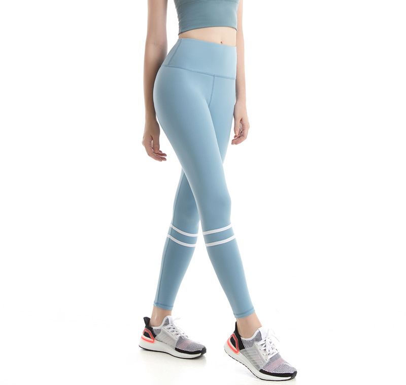 Yoga Pants Women's Elasticity Tight High-waisted Outer Wear Peach Butt-lift Underwear Running Training Quick-Dry Mixed Colors Se