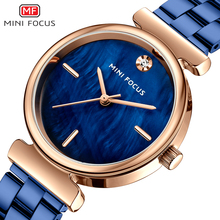 MINI FOCUS Womens Watches New Casual Fashion Ladies Dress