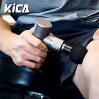 KICA Fascia Gun Mini Size Electric Body Massage 4 Vibration Speeds Handheld for Fitness Athletes Muscle Pain Relief Portable
