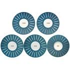 5pcs Blue DIY 25 Hol...